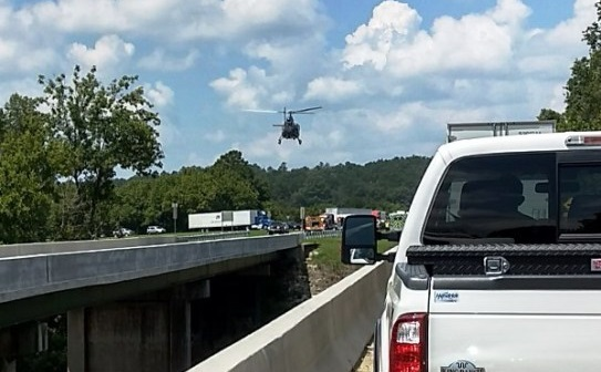 104 9 The Rebel - Major accident snarles traffic on US 411 near